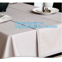China Household cleaning items non woven washable table cloth, Restaurant Pp Spunbond Non Woven Table Cloth, Household cleanin on sale