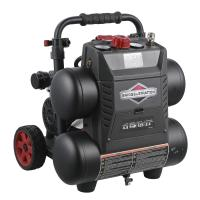 Industrial Briggs And Stratton Air Compressor 4.5 Gallon 17 L Energy Saving Manufactures