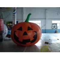 Inflatable Vegetable Shaped Balloons , Air Tight 2.5m Inflatable Pumpkin Manufactures