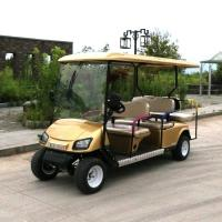 6 Persons 4000w Electric Golf Carts 6V 180AH X 8 Maintenance Free Off Road Golf Carts Manufactures