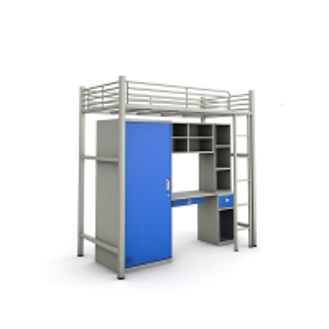 China Desk Underneath Steel Bunk Beds on sale
