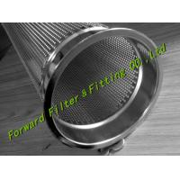Buy cheap Stainless Steel SS304 Bag Basket Industrial Filter Cartridge Green / Black / White from wholesalers