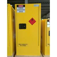 Flammable Safety Cabinets , Fireproof storage cabinets for Chemical Liquid Manufactures