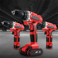 Strong Torque Portable Electric Drill , Bits Included Lithium Power Drill Manufactures