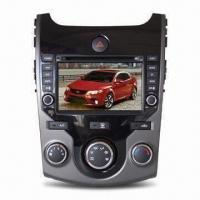 China Car CD Player, DVD, GPS, OEM DVD, 2-DIN DVD, 1-DIN and Dual-zone Function, 4 x 45W Amplifier on sale