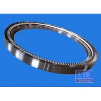 Anti Friction Greased Slewing Ring Bearing Cross Roller Support 148mm High Temperature Manufactures