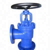 Globe Valve, Angle Type, DIN Standard, Cast Steel Manufactures