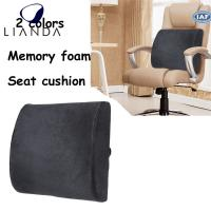 Memory Foam Back Cushion Lumbar Support for Car Seat,lumbar support back rest cushion Manufactures
