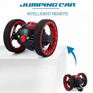 Mini Cars Bounce Car PEG SJ88 2.4GHz RC Car with Flexible Wheels Rotation LED Light Remote Control Robot Car Toys for Gi Manufactures