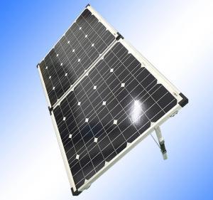 Waterproof Foldable Solar Panel 12v , SquareSolar Hot Water PanelsPV Cells