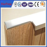 hot selling aluminum cabinet edge handle profile in china Manufactures