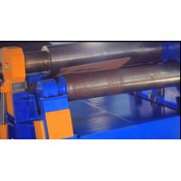 Semi Automatic 4 Roll Plate Bending Machine For 25 Mm Thickness Materials Manufactures