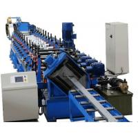 Chain Drive Z Purlin Making Machine , Purlin Rolling Machine With 20 Roller Stations Manufactures