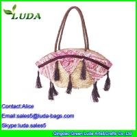 Luda European Style Shoulder Wheat Straw Bags for LDWS-A099 Manufactures