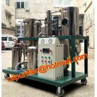 China Used cooking oil filtration treatment and vegetable oil recycling machine Residual Particles Oil Micro Filter decolor on sale