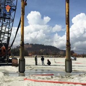 China Ground Improvement Vibroflot Equipment 130KW Vibrating Floater environmental friendly on sale