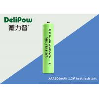 SGS NI - MH High Temperature Rechargeable Battery AAA 600mAh  Manufactures