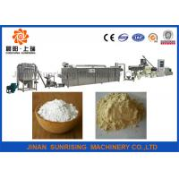 Automatic Oil Drilling Corn Starch Making Machine , Starch Processing Plant Stainless Steel Manufactures