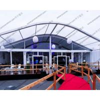 Ceremony / Celebration Party Arch Curved Tent Luxury Aluminum Alloy With Eave Manufactures