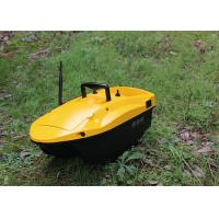 China Yellow shuttle bait boat , DEVICT bait boat remote control style radio control on sale