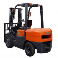 3000mm Lift Height Diesel Forklift Truck With Pneumatic Tires Automatic Transmission Manufactures