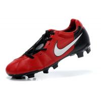 Most Popular Black/Red TPU Sole Soccer Shoes ​ Manufactures