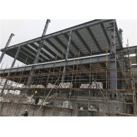China Customized Size Steel Frame Structure Building / Multi Storey Construction on sale