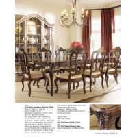 Cherry Veneer Restaurant Table And Chair Sets With Cushion / Walnut Veneer Manufactures