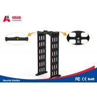 24 Zone Portable Walk Through Metal Detector Gate With Visual Audible Alarm Manufactures