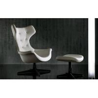 High Back Swan Office Chair , PU Leather Upholstered Arne Jacobsen Swan Chair Manufactures