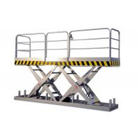 3000Kg Loading Capacity Hydraulic Stationary Scissor Lift 1.6M Manufactures