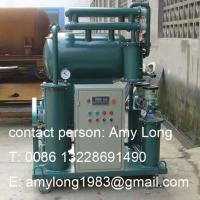 One-Stage Vacuum Transformer Oil Purification Plant Manufactures