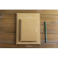 China spiral binding notebooks/spiral hardcover notebook/grid paper spiral notebook on sale
