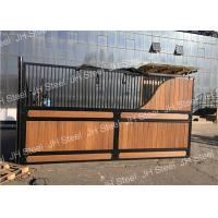Durable Luxurious Stables Horse Stall Fronts Stable With Sliding Door Panel Manufactures