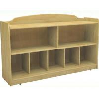 China Preschool Classroom Furniture Kids Wooden Lockers H-07503 on sale