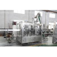 Automatic Essential Oil Filling Machine , Palm Oil Bottling Line High Speed Manufactures