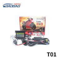T01 H4 bulb with lens 35w 55w motorcycle hid xenon conversion kit Manufactures