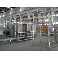 China 4 or 5 gallon mineral water bottles filling machine filling and sealing 300 barrel / hour on sale