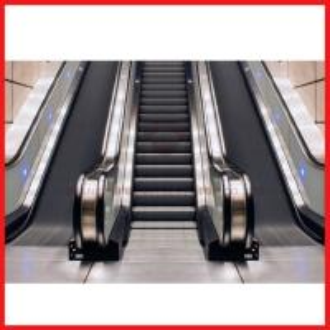 Shopping Malls , Office Moving Walk Escalator Angle 30 Deg Speed 0.4m / S
