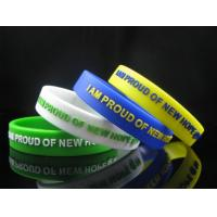 AUTISM AWARENESS WRISTBAND, silicon bracelet, filled in colour Sports Silicone Bracelets Manufactures