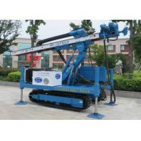 ISO9001 Dth Hammer Anchor Drilling Rig Foundation Piling Machine MDL-135H Manufactures
