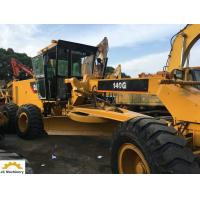 6 Cylinders CAT Used Motor Graders Machine With 3306 Engine Model 140G 14G 12G Manufactures