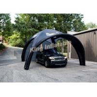 Durable Attractive Small Black Inflatable Event Tent for Car Parking Manufactures