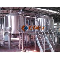 380V Three  Phase Large Scale Brewing Equipment Brewery Fermentation Tanks Manufactures