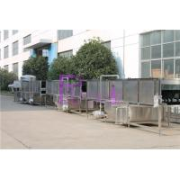 Carbonated Drink Bottled Automatic Sterilizer , Juice Processing Equipment Manufactures