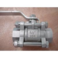 Smooth opening and closing 3PC Ball valve Manufactures