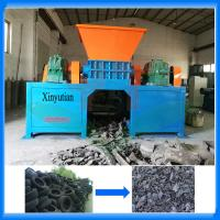 China Used car tire shredder recycling machine factory on sale