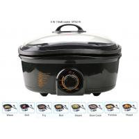 5 Liter Electric Multi Cooker , Power Pot Pressure Cooker 1200-1400W Overheat Protection Manufactures