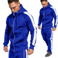Best Quality China Manufacturer Cotton Custom Mens Tracksuit Manufactures