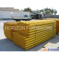 Spruce Wood Girder H20 Beam Formwork Strong Rigidity For Concreting Wall Formwork Manufactures